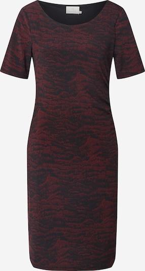 Kaffe Kleid 'Airis' in bordeaux / rostrot / schwarz, Produktansicht