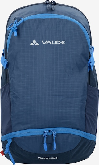 VAUDE Trek & Trail Wizard 30+4 Rucksack 30 cm in blau: Frontalansicht