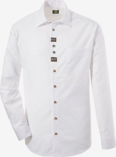OS-TRACHTEN Trachtenhemd in weiß, Produktansicht