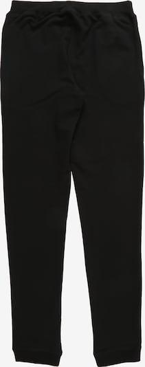 NAME IT Kalhoty - černá: Pohled zezadu