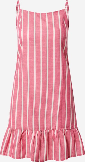 Trendyol Letné šaty - s ružovými fľakmi / biela: Pohľad spredu