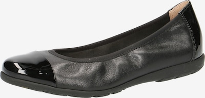CAPRICE Ballerinas in schwarz, Produktansicht