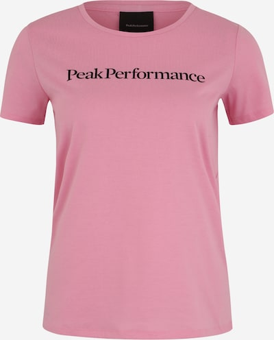 PEAK PERFORMANCE Functioneel shirt 'TRACK' in de kleur Rosa / Zwart, Productweergave