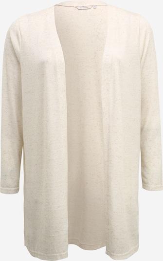 ONLY Carmakoma Gebreid vest 'CARNESSA LS CARDIGAN' in de kleur Wit gemêleerd, Productweergave