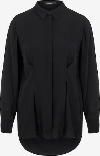 J.Lindeberg Hemd Eddie in schwarz, Produktansicht