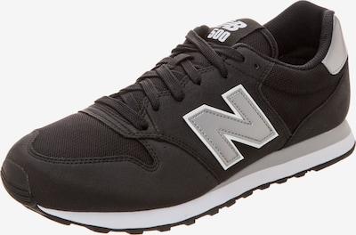new balance Sneaker in schwarz / silber / weiß, Produktansicht