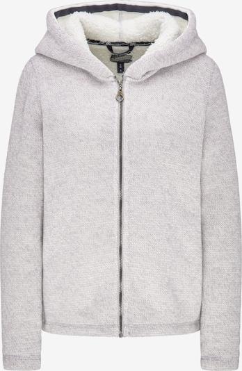 DREIMASTER Strickjacke in grau, Produktansicht