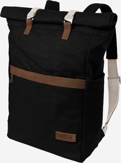 MELAWEAR Rucksack 'Ansvar I' in beige / braun / schwarz, Produktansicht