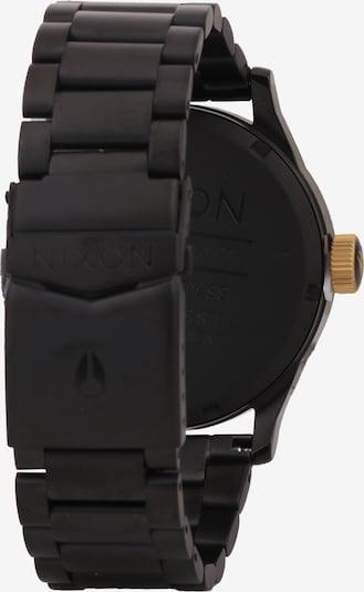 Nixon Uhr 'Sentry SS' in gold / schwarz: Rückansicht