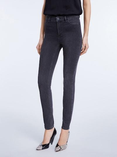 SET Jeans in grey denim: Frontalansicht