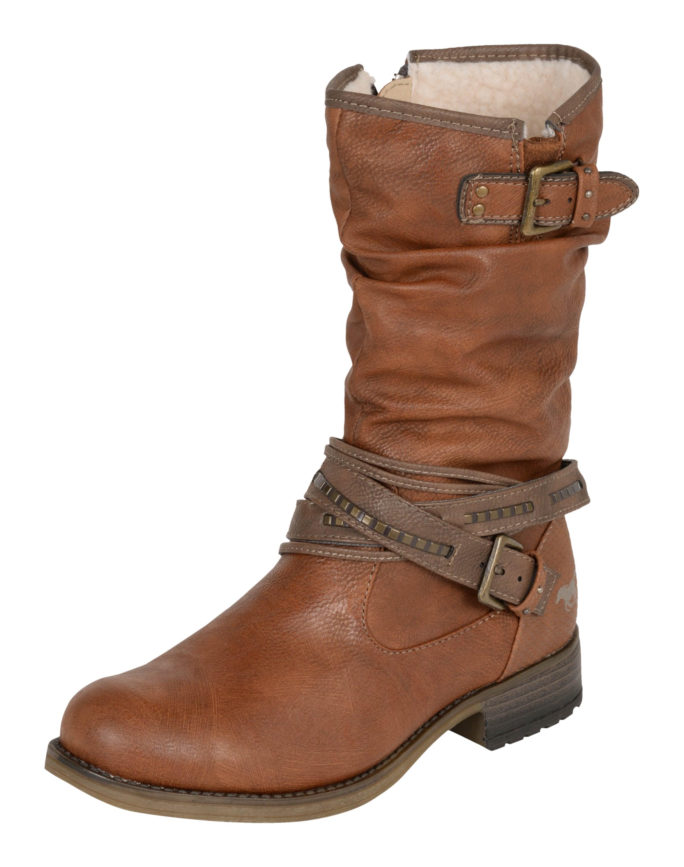 Rabatt Ebay Rabatt Finden Große MUSTANG Stiefel mit Riemen 6pMfEG9k