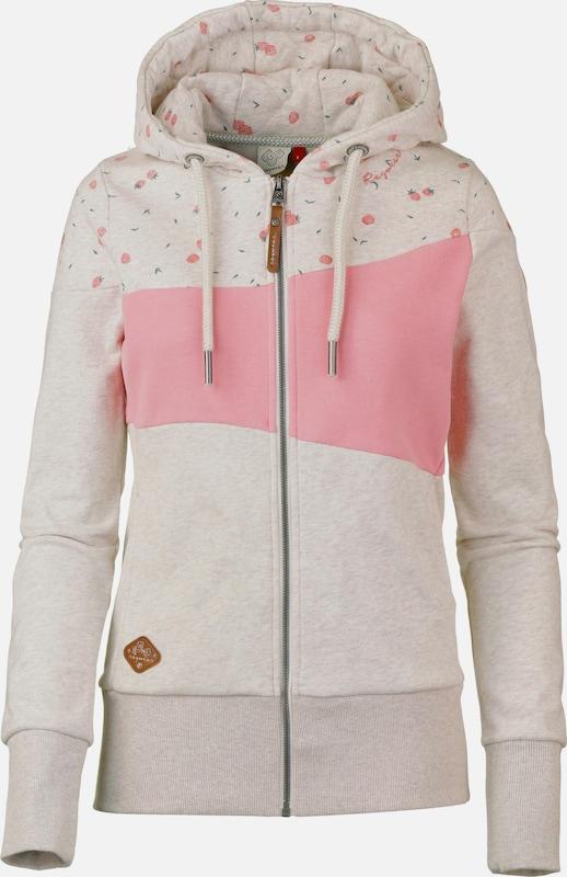 Ragwear Sweatjacke 'Tarsa' in beige   hellRosa  Neue Kleidung in dieser Saison