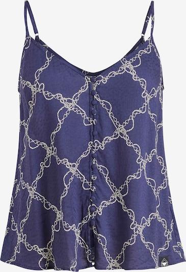 khujo Top ' ZALTA ' in blau / weiß, Produktansicht