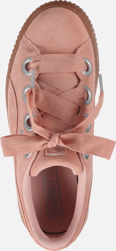 PUMA PUMA PUMA 'Platform Kiss Suede' Sneaker a80084