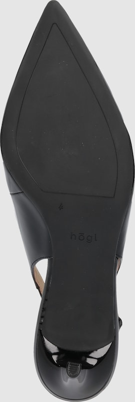 Högl Slingpumps in Lack-Optik