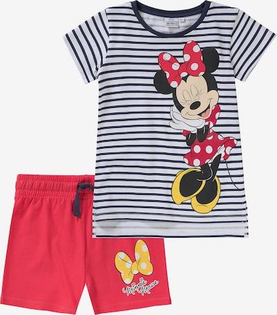 Disney Minnie Mouse Schlafanzug in rot / schwarz / weiß, Produktansicht