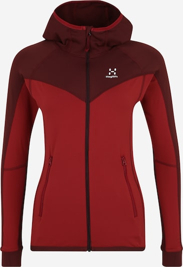 Haglöfs Športna jakna 'Lithe' | rdeča barva, Prikaz izdelka