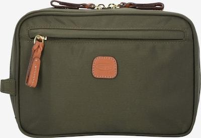 Bric's Make up tas in de kleur Bruin / Kaki, Productweergave