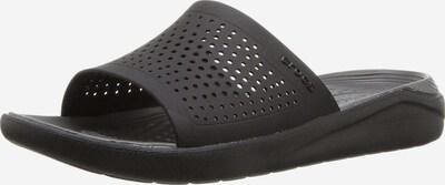 Crocs Pantolette 'Literide Slide' in schwarz, Produktansicht