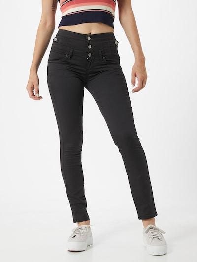 LIU JO JEANS Jeans 'Rampy' in black denim, Modelansicht