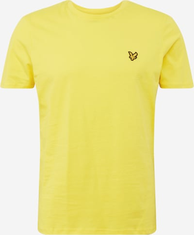 Lyle & Scott T-Shirt in gelb, Produktansicht