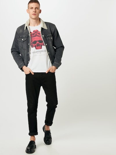 EINSTEIN & NEWTON Majica 'Ali Gator' u miks boja / bijela: Prednji pogled