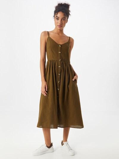VILA Kleid in hellbraun, Modelansicht