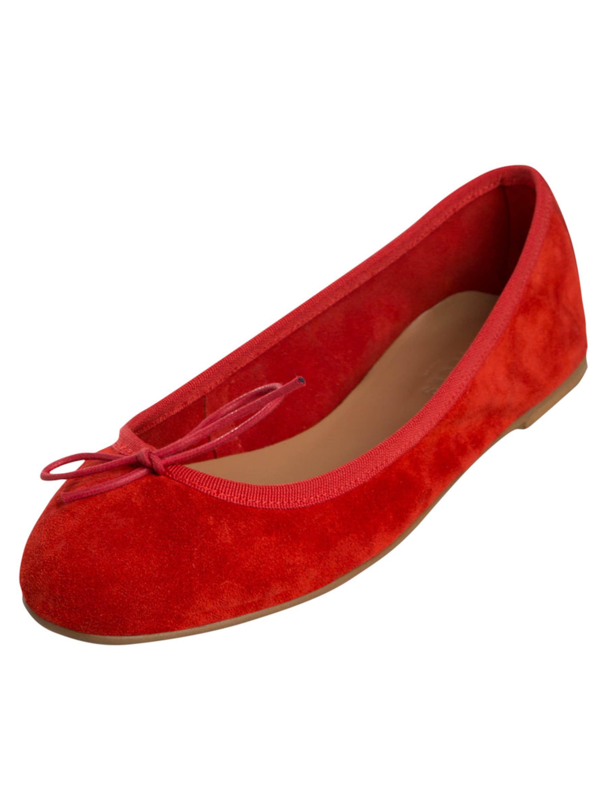 PIECES Wildleder-Ballerinas Verschleißfeste billige Schuhe Hohe Qualität