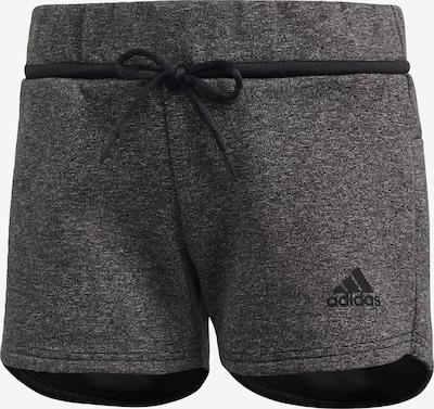 ADIDAS PERFORMANCE Shorts in schwarzmeliert, Produktansicht