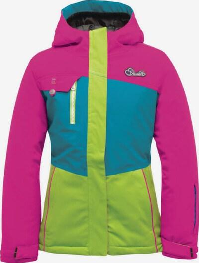 DARE 2B Jacke 'Snowdrift' in himmelblau / hellgrün / pink, Produktansicht