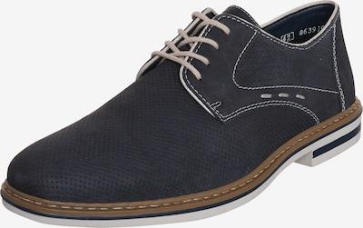 Batai su raišteliais iš RIEKER , spalva - tamsiai mėlyna, Prekių apžvalga