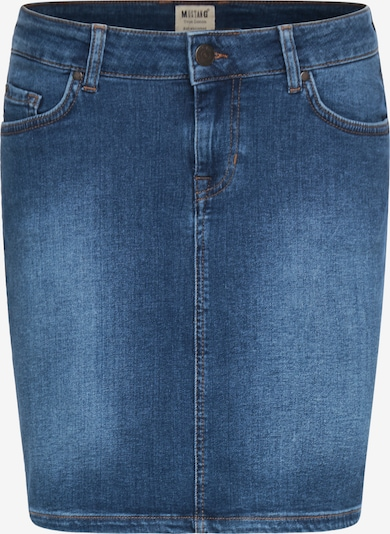 MUSTANG Rock ' Laura Skirt ' in blau, Produktansicht