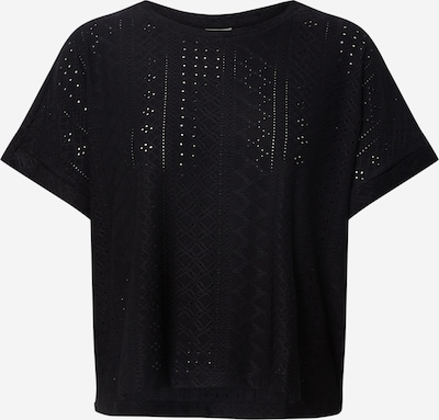 JACQUELINE de YONG Shirt 'JDYFATINKA S/S LOOSE TOP JRS' in de kleur Zwart, Productweergave