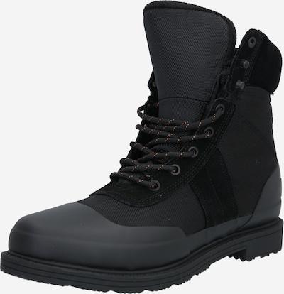 HUNTER Šněrovací boty 'COMMANDO' - černá: Pohled zepředu