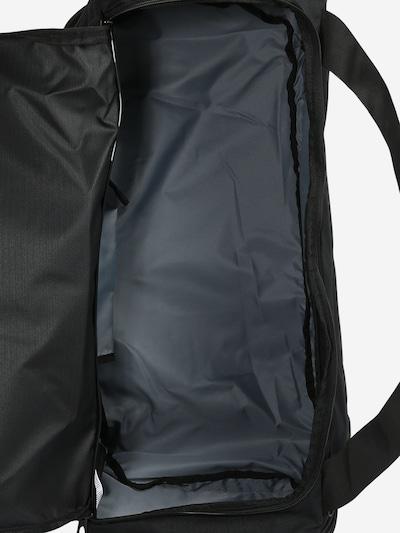NIKE Sports Bag in Black / White: Top view