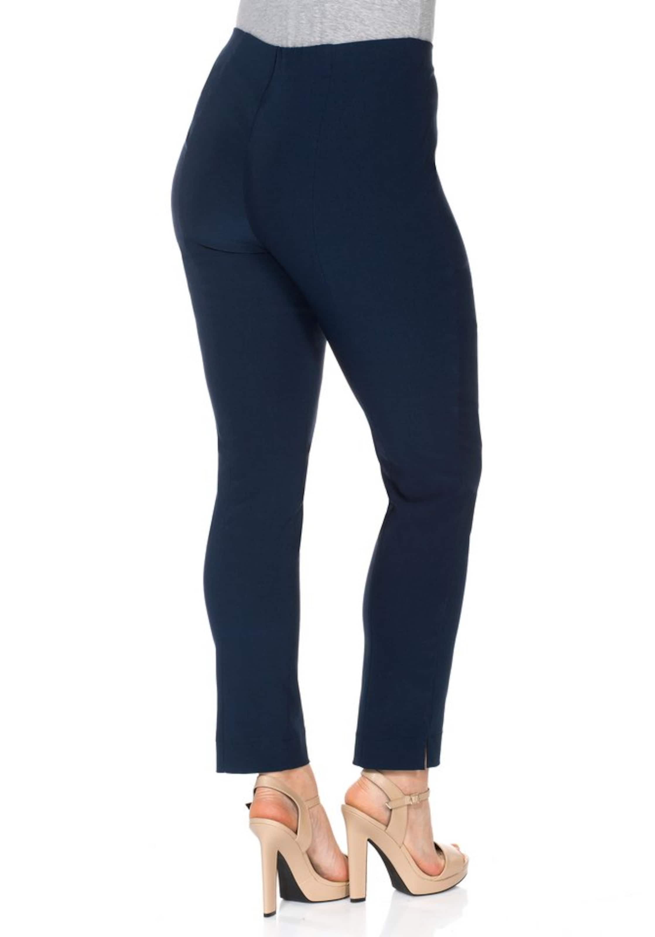 casual sheego am Stoffhose Schlitzen mit Schlitzen Saum casual Saum Stoffhose Stoffhose sheego am mit sheego casual vfTq4
