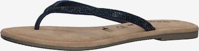 TAMARIS Séparateur d'orteils en bleu foncé, Vue avec produit