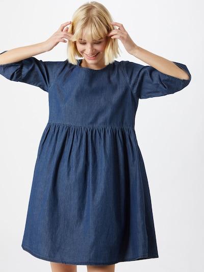 Sublevel Kleid in blue denim, Modelansicht