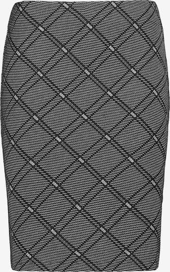 TAIFUN Rock in grau / schwarz, Produktansicht