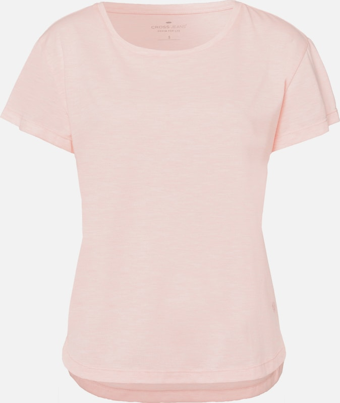 Cross Jeans Shirt in pastellpink, Produktansicht