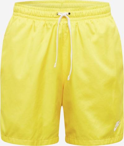 Pantaloncini da bagno Nike Sportswear di colore giallo, Visualizzazione prodotti