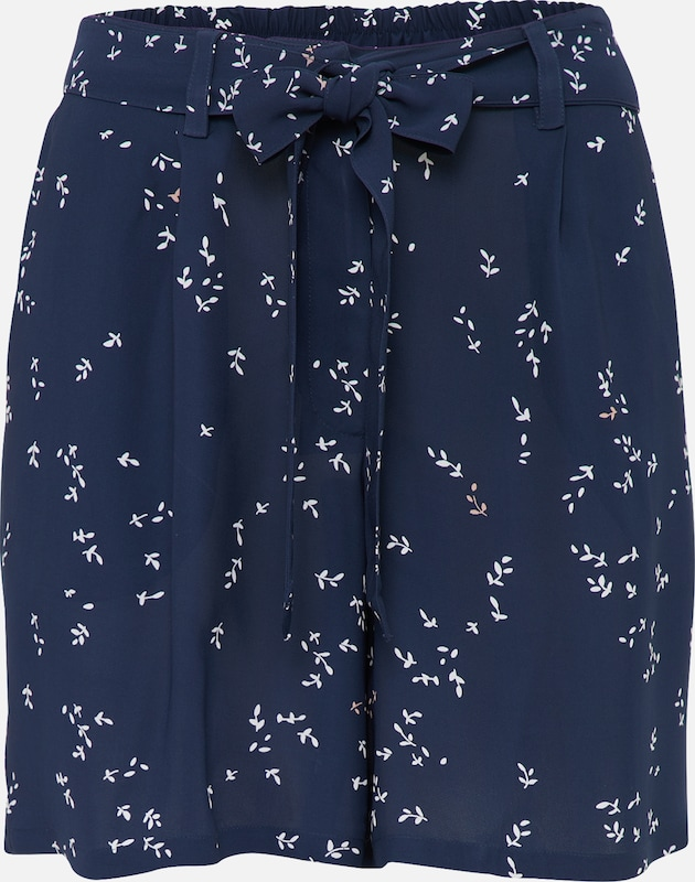 minimum Short 'Bergliot' in navy: Frontalansicht