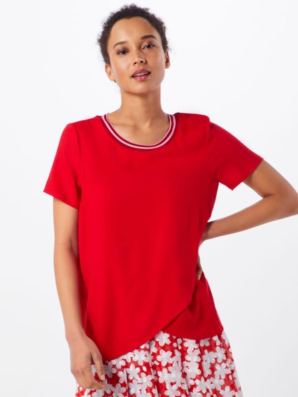 Soaked Luxury Rouge 'kristy' Cerise En In T shirt eoCxdB