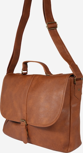 BURTON MENSWEAR LONDON Tasche 'TAN PU MESSENGER    ' in braun, Produktansicht