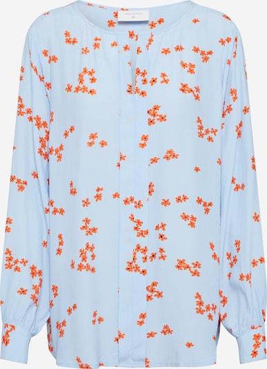 Freequent Bluse 'FQTADNEY-BL' in hellblau / orange, Produktansicht