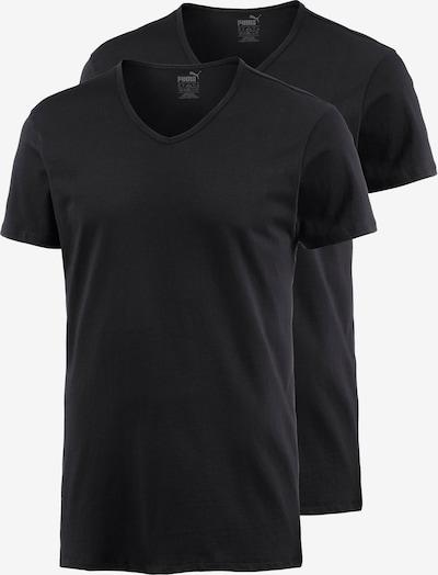 PUMA V-Shirt Herren in schwarz, Produktansicht