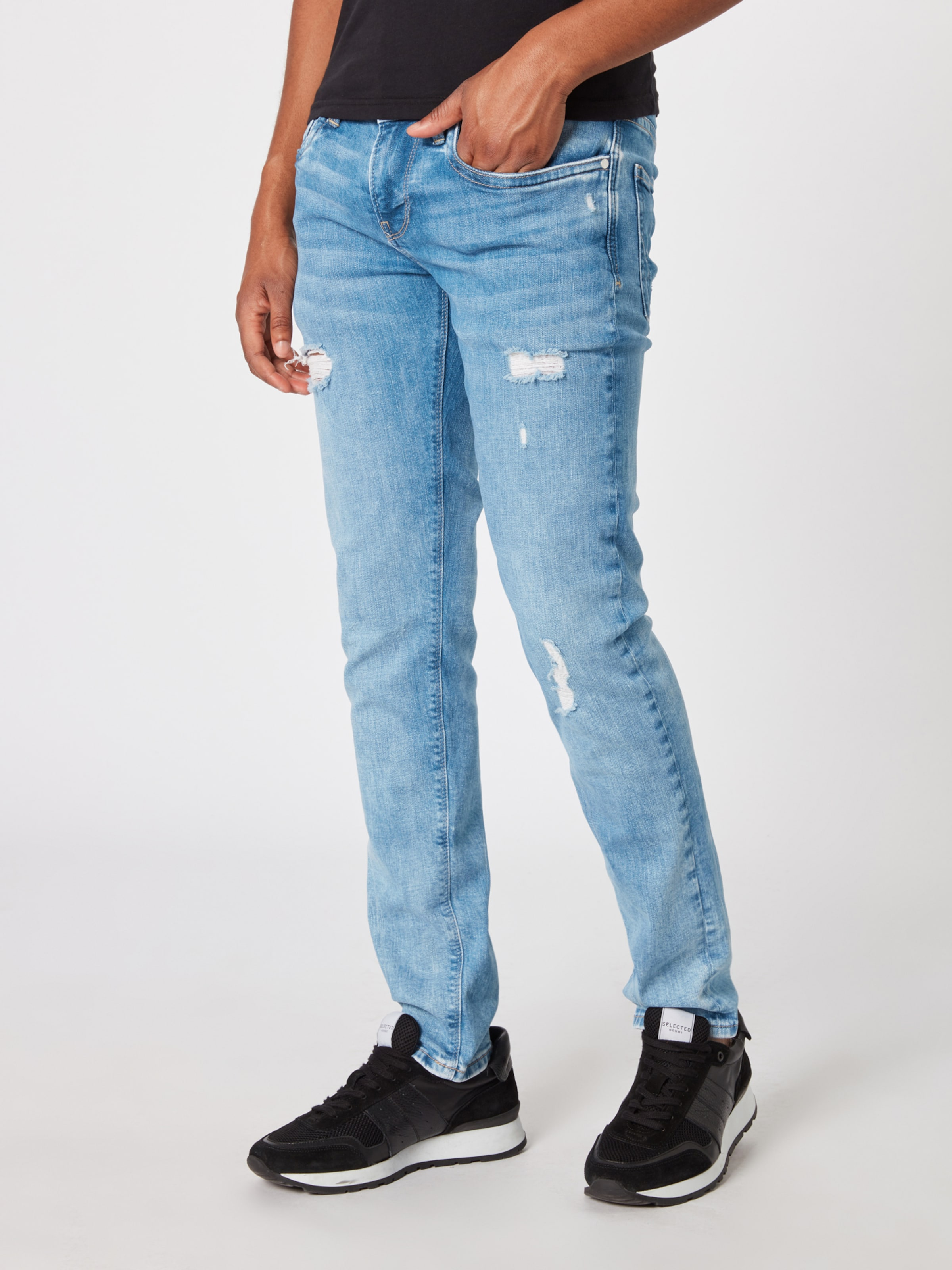 'hatch' Blauw Jeans Denim In Pepe 7gvYbfy6
