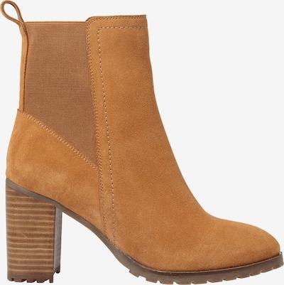 ABOUT YOU Chelsea Boots 'Leandra' en cognac: Vue de profil