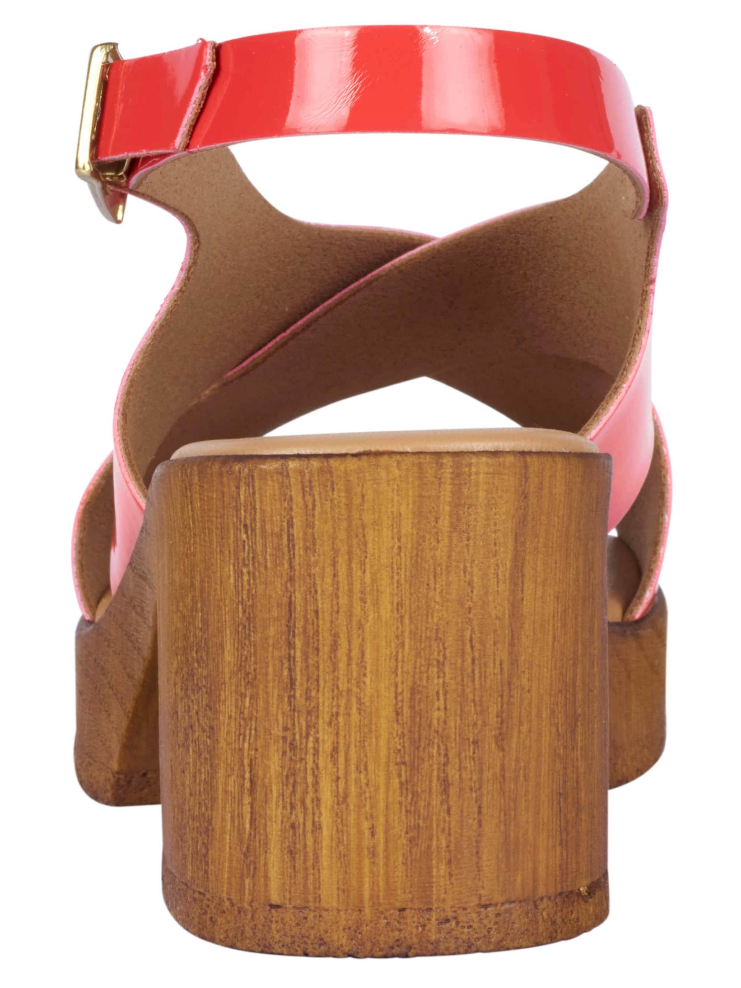 heine Sandalette in Lack-Optik Outlet Beliebt Günstig Kaufen Ebay Günstig Kaufen Angebot wFfy3