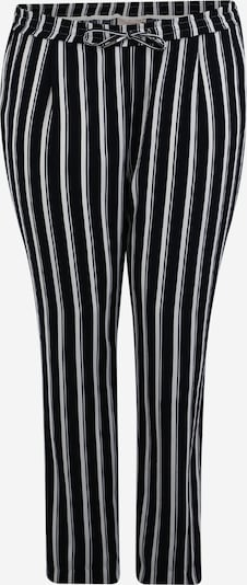ONLY Carmakoma Chino-püksid 'CARCASIA LONG PANTS' sinine / valge, Tootevaade